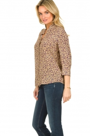 ba&sh |  Floral blouse Catty | beige  | Picture 3
