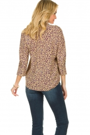 ba&sh |  Floral blouse Catty | beige  | Picture 4