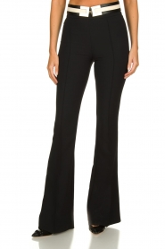 ELISABETTA FRANCHI | Flared trousers Loes | black  | Picture 2