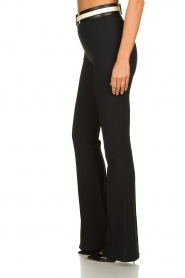 ELISABETTA FRANCHI | Flared trousers Loes | black  | Picture 4