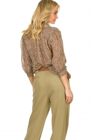 ba&sh | Blouse met zijde Dalas | naturel | Blouse with silk | Dalas  | Picture 5