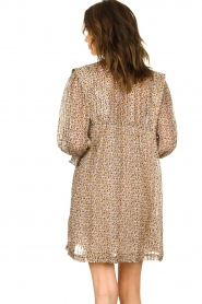 ba&sh |  Dress with silk Deep | naturel  | Picture 6