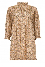 ba&sh |  Dress with silk Deep | naturel  | Picture 1