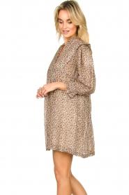 ba&sh    Dress with silk Deep   naturel    Picture 4