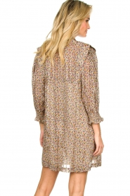 ba&sh |  Dress with silk Deep | naturel  | Picture 5