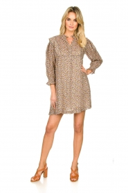 ba&sh |  Dress with silk Deep | naturel  | Picture 3