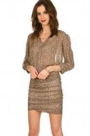 ba&sh |  Skirt with silk Dina |  naturel  | Picture 2