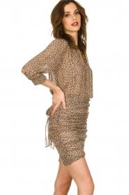 ba&sh |  Skirt with silk Dina |  naturel  | Picture 3