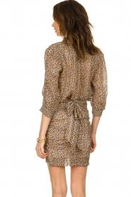 ba&sh |  Skirt with silk Dina |  naturel  | Picture 4