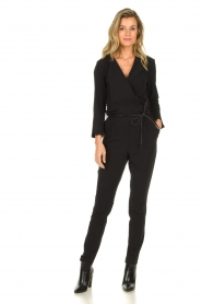 D-ETOILES CASIOPE |  Jumpsuit with belt Sienna | black  | Picture 2