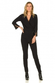 D-ETOILES CASIOPE |  Jumpsuit with belt Sienna | black  | Picture 4