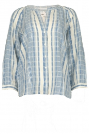 ba&sh |  Striped blouse East | blue  | Picture 1