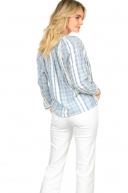 ba&sh |  Striped blouse East | blue  | Picture 5