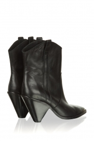 Toral :  Leather boots with metal cap Elisio | black - img5