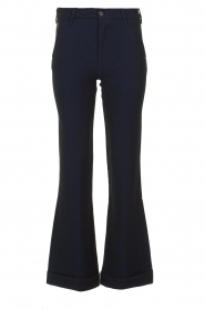 Lois Jeans |  L32 Trousers Silvia | dark blue  | Picture 1