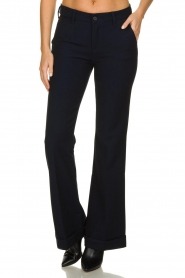 Lois Jeans |  L32 Trousers Silvia | dark blue  | Picture 2