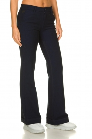 Lois Jeans |  L32 Trousers Silvia | dark blue  | Picture 4