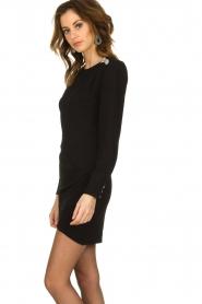 ba&sh |  Dress with button details Sloane | black  | Picture 5