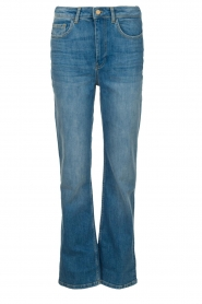 ba&sh |  High waist jeans Cosm | blue  | Picture 1