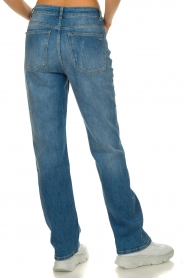 ba&sh |  High waist jeans Cosm | blue  | Picture 6
