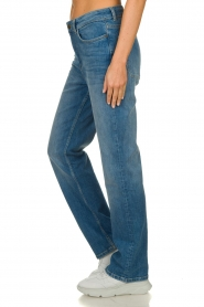 ba&sh |  High waist jeans Cosm | blue  | Picture 5