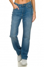 ba&sh |  High waist jeans Cosm | blue  | Picture 2