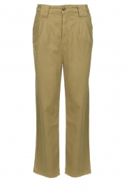 ba&sh |  Poplin pants Paige | beige  | Picture 1
