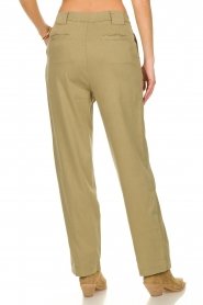 ba&sh |  Poplin pants Paige | beige  | Picture 6