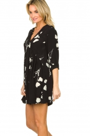 ba&sh |  Dress with flowers Pansy | black  | Picture 5