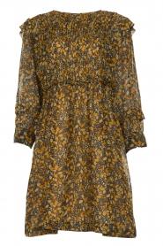 ba&sh |  Printed dress Sandra | brown   | Picture 1