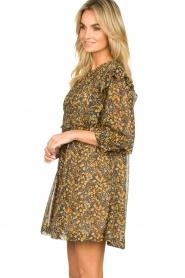 ba&sh |  Printed dress Sandra | brown   | Picture 5