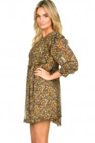 ba&sh |  Printed dress Sandra | brown   | Picture 4