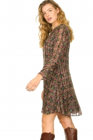 Freebird |  Lurex print dress Frida | multi  | Picture 5
