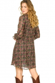 Freebird |  Lurex print dress Frida | multi  | Picture 6