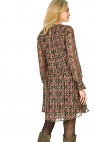 Freebird |  Lurex print dress Frida | multi  | Picture 7