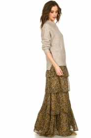 ba&sh |  Printed skirt | brown  | Picture 4