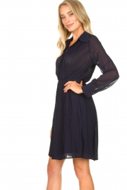 Freebird | Dress with pleads Caily | blue  | Picture 5