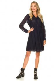 Freebird | Dress with pleads Caily | blue  | Picture 3