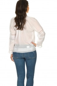 ba&sh |  Laced blouse Stella | white  | Picture 5
