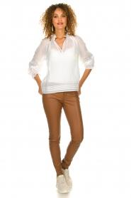 ba&sh |  Laced blouse Stella | white  | Picture 3