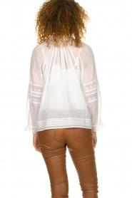 ba&sh |  Laced blouse Stella | white  | Picture 6