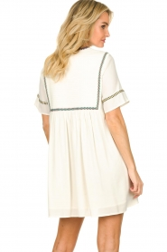 ba&sh |  Embroidered dress Talia | naturel   | Picture 5