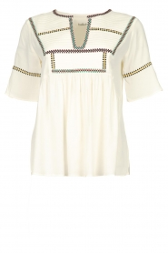 ba&sh |  Embroidered top Taylor  | natural  | Picture 1