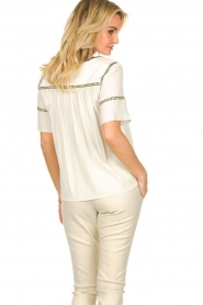 ba&sh |  Embroidered top Taylor  | natural  | Picture 5