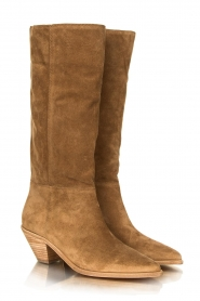 ba&sh |  Suede boots Cowby | sand  | Picture 5