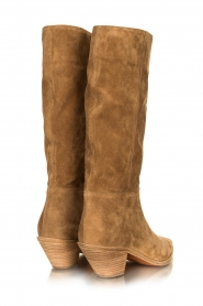 ba&sh |  Suede boots Cowby | sand  | Picture 6