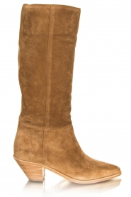 ba&sh |  Suede boots Cowby | sand  | Picture 2