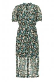 Freebird |  Floral midi dress Hayden | blue  | Picture 1