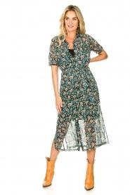 Freebird |  Floral midi dress Hayden | blue  | Picture 2