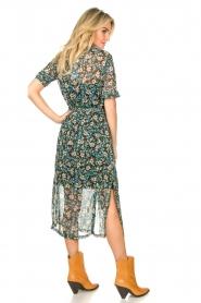 Freebird |  Floral midi dress Hayden | blue  | Picture 4